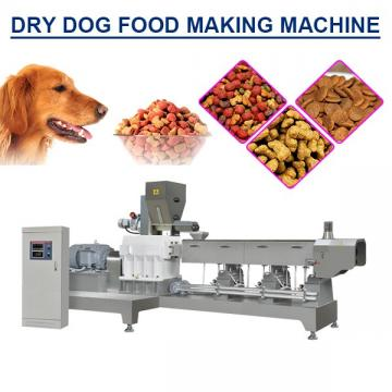 500kg/h Output Dry Dog Food Making Machine With Running Steadily And Reliability