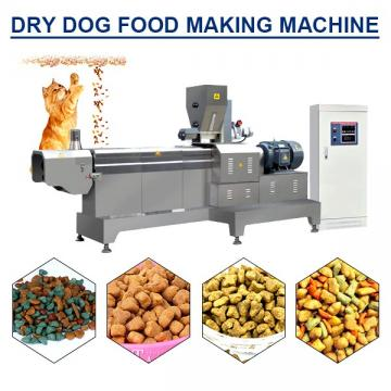 100kw 304 Stainless Steel Dry Dog Food Making Machine With Long Working Life