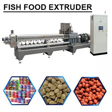 High Automatic Accurate Control Fish Food Extruder With Siemens Motor