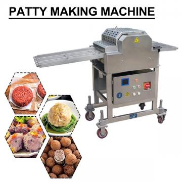 Easy Operation Automatic Patty Making Machine For 100kg/h Production Capacity