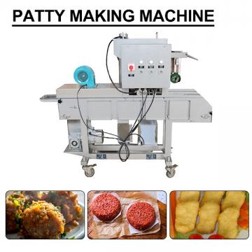 High Productivity  Long Service Life  Patty Making Machine With Self-cleaning