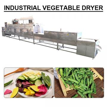 High Quality Stainless Steel Industrial Vegetable Dryer With 100-500kg/h Capacity
