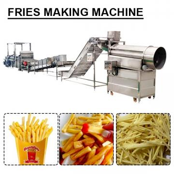 High Efficiency Saving Labor Fries Making Machine With Self-control Of Temperature