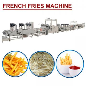 150 Kw Stainless Steel Fries Making Machine With Potato As Raw Materials