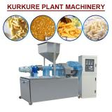 Automatic Kurkure Plant Machinery ,snacks Food Extruder With Corn Wheat Flour As Raw Material