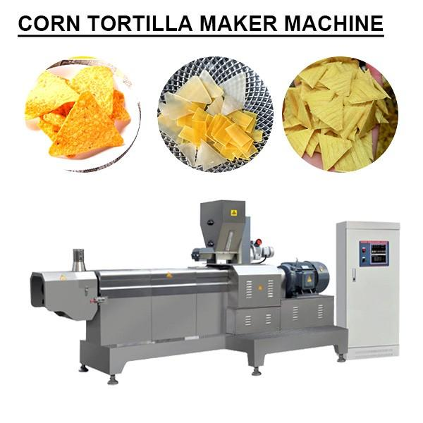 Ce Certification Energy Saving Corn Tortilla Maker Machine With Self-cleaning Ability #1 image