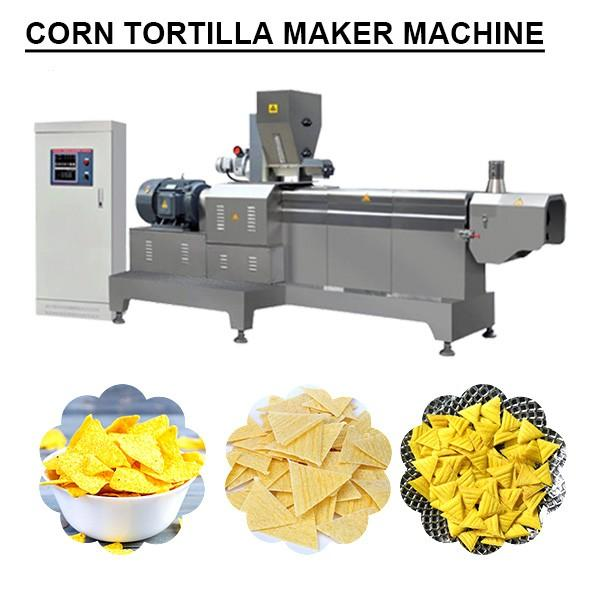 Full Automatic Low Noise Corn Tortilla Maker Machine With Plc Control System #1 image