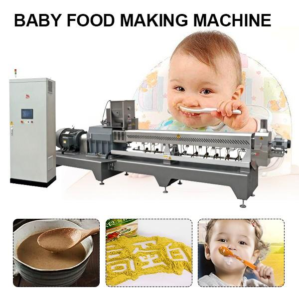 Fully Automatic Professional Baby Food Machine With 120kg/h Capacity #1 image