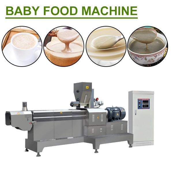 Simple Operation Baby Food Machine With Nutrition Rice Powder As Raw Materials #1 image