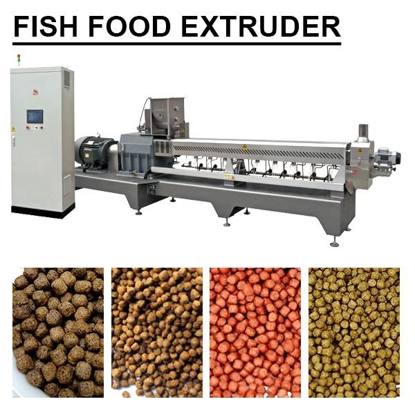 Self-cleaning Simple Structure Fish Food Extruder, Iso Certificate #1 image