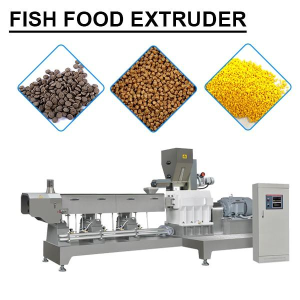 Customized Fish Food Extruder With Corn Wheat As Material,Ce,iso Certificate #1 image
