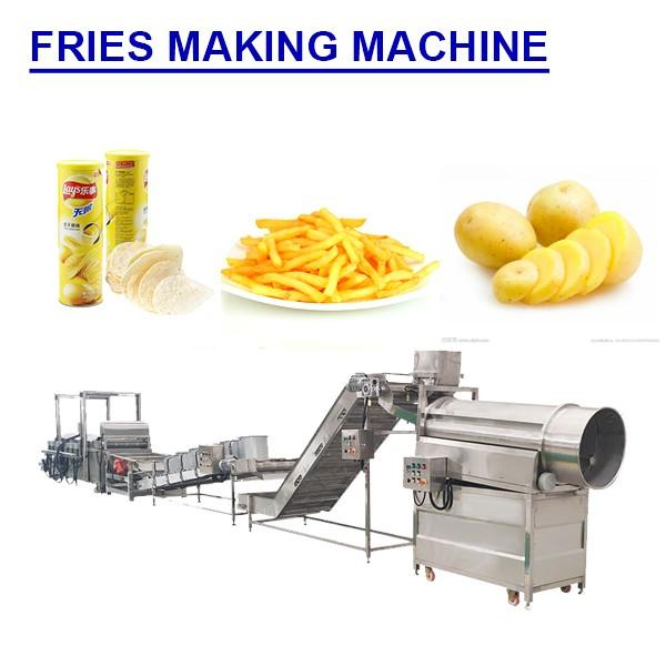 Multifunction Low Noise Fries Making Machine With Plc Control System #1 image